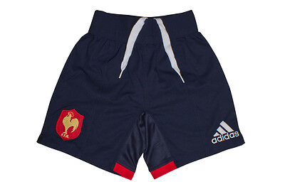 adidas France 2016/17 Home Match Rugby Shorts