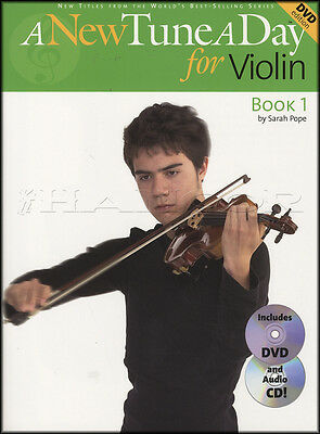 A New Tune A Day For Violin 1 Book with DVD and CD Learn To Play Tutor Method