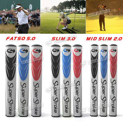 Super Stroke Putter Grip Ultra Slim Mid Slim Fat 2.0 3.0 5.0 Brand New