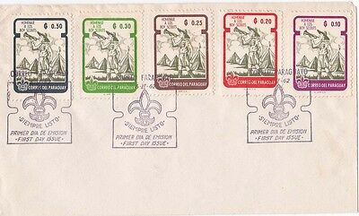 Paraguay 1962 FDC Scouts