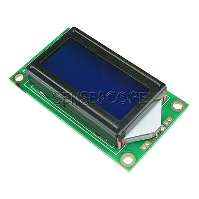 Blue 0802 LCD 8x2 Character LCD Display Module 5V LCM For Raspberry pi Arduino