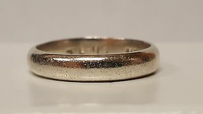 Vintage Ladies Solid Sterling Silver TAXCO Ring Band - Size 6.25 - MEXICO