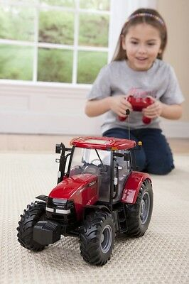 Radio Controlled RC Tractor Remote Control Farm Vehicle Play Toy Truck Model Car