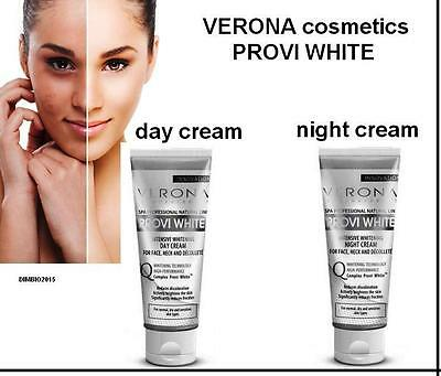 INTENSIVE WHITENING CREAM VERONA PROVI WHITE Pigmentation,DARK SPOTS Day / Night