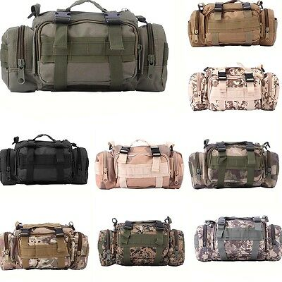 Outdoor Fishing Tackle Bait Bag Waterproof Waist Shoulder Carry Storage 9 Choice