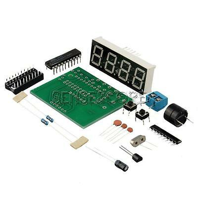 At89c2051 Digital 4 Bits Electronic Clock Electronic Production Suite Kit