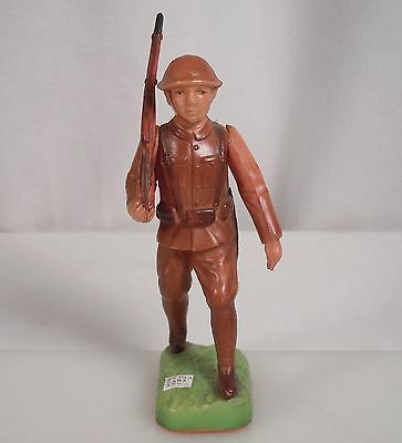 Vintage Celluloid WWI Soldier Figurine - Made in Japan