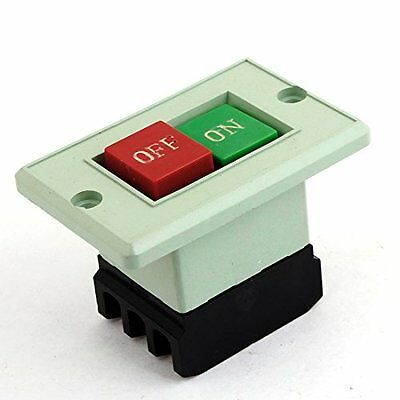 3PST AC380V 5A Self Locking On/Off Power Pushbutton Switch