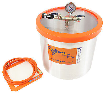 Best Value Vacs 5 Gallon Aluminum Vacuum and Degassing Chamber