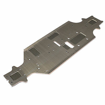 Hot Bodies Main Chassis (4mm/Hard Anodized) D8 - 67349
