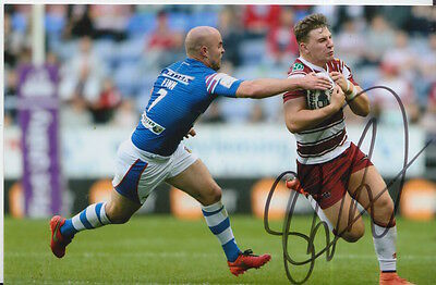 Wigan Warriors Hand Signed George Williams 6X4 Photo 6.
