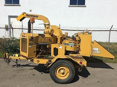 1998 Vermeer 1250 Turbo Brush Chipper