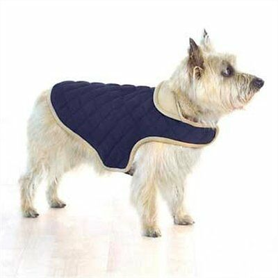 Company of Animals Dog Gone Smart Quilted Jacket, 20-inch, Navy
