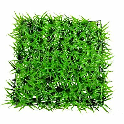 Sourcingmap Aquarium Lawn Style Ornament Decor, 8.6 x 8.6-inch, Green
