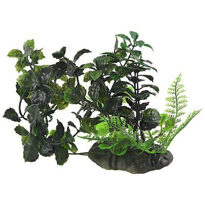Sourcingmap Emulational Aquarium Water Plants/Grass Ornament, Dark Green