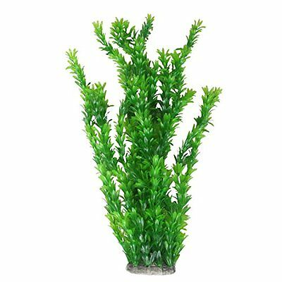 Sourcingmap Plastic Aquarium Fish Tank Plant Ornament/Grass Decor, Green