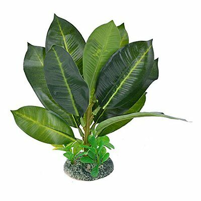 Sourcingmap Aquarium Simulation Underwater Plant, 6.7-Inch, Green