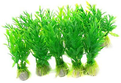 Sourcingmap Aquarium Emulational Grass Decor, 3.5-Inch, Green