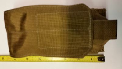Smoke Grenade Pouch MOLLE II Coyote Brown Magazine Double Mag Knife Phone Tool