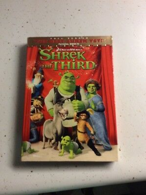 Shrek the Third DVD, 2007, Full Screen Version