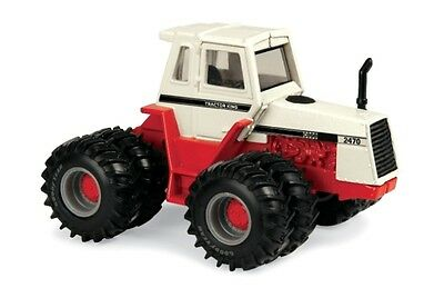 Case 2470 Series 4Wd Tractor 1971 With Dual Wheels Diecast Scale 1/64 Ertl