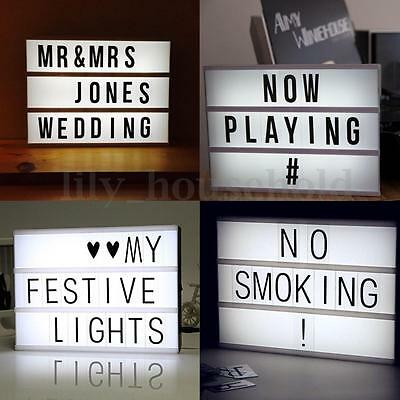 led lightbox a4 leuchtkasten 85 buchstaben symbole batteriebetrieb eur 29 95 picclick de. Black Bedroom Furniture Sets. Home Design Ideas
