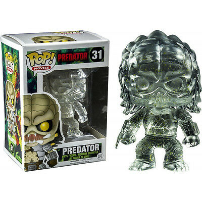 Predator - Clear Predator with Alien Splatter US Exclusive Pop! Vinyl Figure