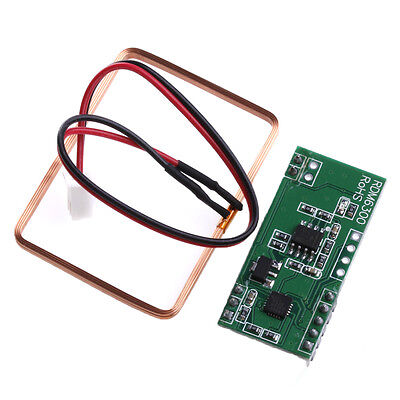UART 125Khz EM4100 RFID Card Key ID Reader RF Module RDM6300 For Arduino