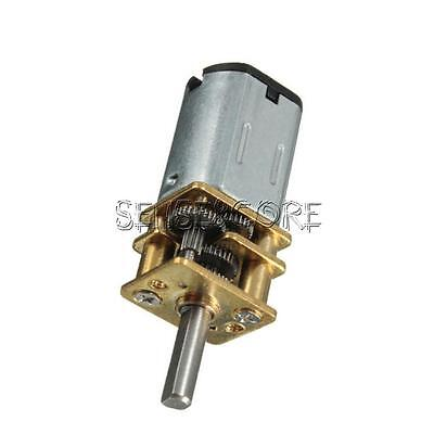 DC 6V 30RPM Mini Speed Reduction Gear Motor with Metal Gearbox Wheel Shaft
