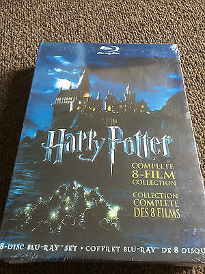 Harry Potter: Complete 8-Film Collection (Blu-ray Disc, 2011, 8-Disc Set) Sealed