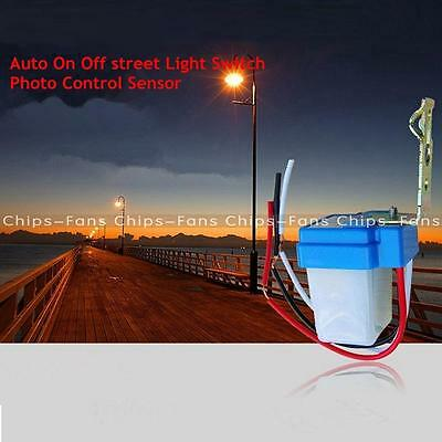 New AC DC 12V 24V 220V 10A Auto On Off Photocell Street Light Sensor Switch