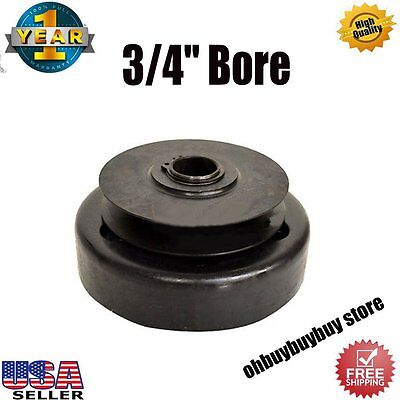 "Go Kart Parts 3/4"" Bore Centrifugal Clutch Belt Drive With Pulley GoKart USA HL"