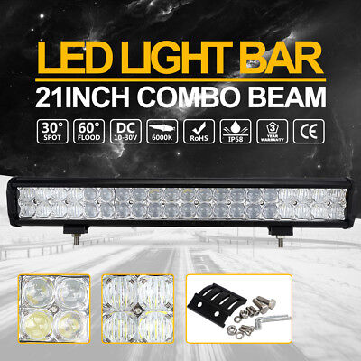 "21"" inch OSRAM 5D 280W LED Combo Light Bar Work Driving SUV Offroad 4WD Truck"