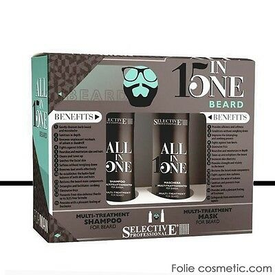 Selective Professional - Kit Barbe -  Shampoing & Masque Multi-soin Barbe 2