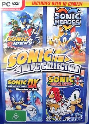(NU) SEGA Sonic PC Collection (6 DISCS/Over 15 Games) 2009 PC GAMES COLLECTION