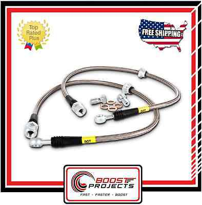 StopTech Stainless Steel Braided Front Brake Lines Fits Lexus / Toyota Supra