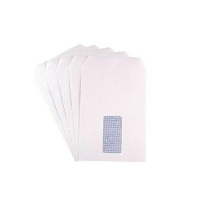 Q-Connect Envelope C5 Window 90gsm White Self-Seal Pack of 500 KF3406