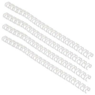 ACCO GBC A4 6mm 34-Loop Wires 3:1 Pitch White Pack of 100 RG810470