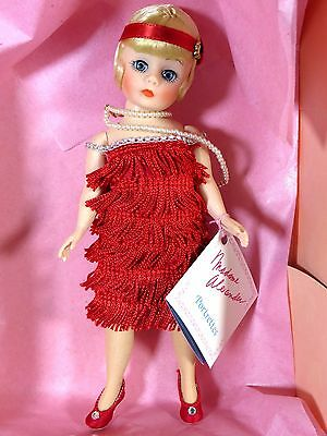 """Boxed Madame Alexander Doll 10 """" Flapper In Red #1118"""
