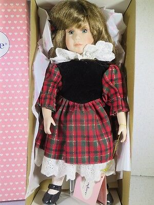 "New Boxed Effanbee Doll 15"" Merrie Mp127 Christmas Series"