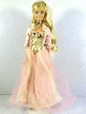 Dressed Barbie Doll 2004 Princess And The Pauper Anneliese