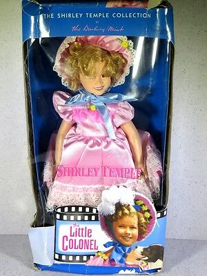 Nib Shirley Temple Doll 1996 The Little Colonel By The Danbury Mint