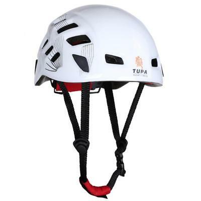 Rock Climbing Caving Rescue Safety Helmet Hard Hat Head Protector White