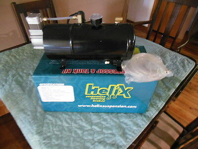 Helix 185258 12V DC Air Compressor & Tank Kit