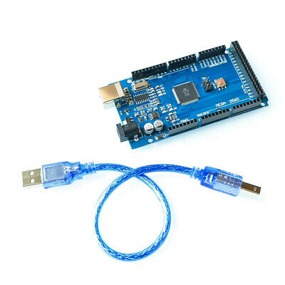 NEW MEGA 2560 R3 Development Board CH340G ATMEGA 2560 Kit USB Cable For Arduino