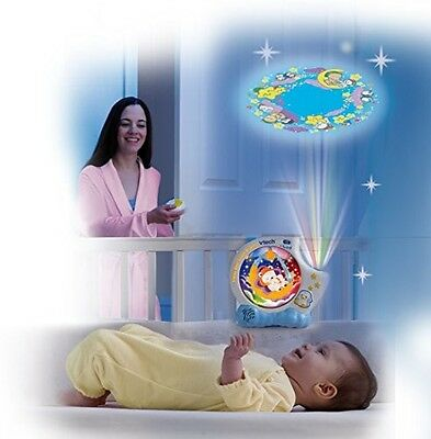 New Baby VTech Sleepy Bear Sweet Dreams 4 in 1 Night Light Projector Mobile