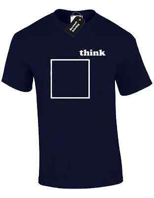 Think Outside The Box Mens T Shirt Funny Joke New Premum Design Retro Gift Idea
