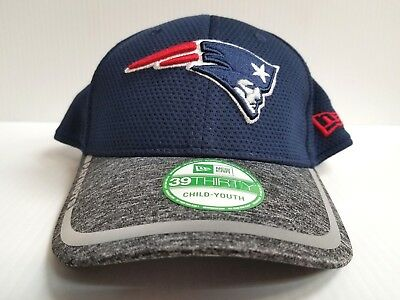 83e9ad48d16 YOUTH New England Patriots Cap Era 39Thirty Stretch Fit Hat 2016 Training  Camp