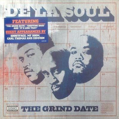 DE LA SOUL – THE GRIND DATE 2x Vinyl LP SANDV296 First Press