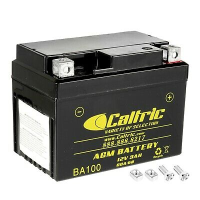 AGM BATTERY Fits YAMAHA JOG 50 CG50 1989 1990 1991